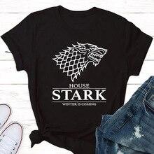 Stranger things t-shirt letter printed new short-sleeved shirt T-shirt starkT-shirt fan lovers shirt T-shirt цена в Москве и Питере
