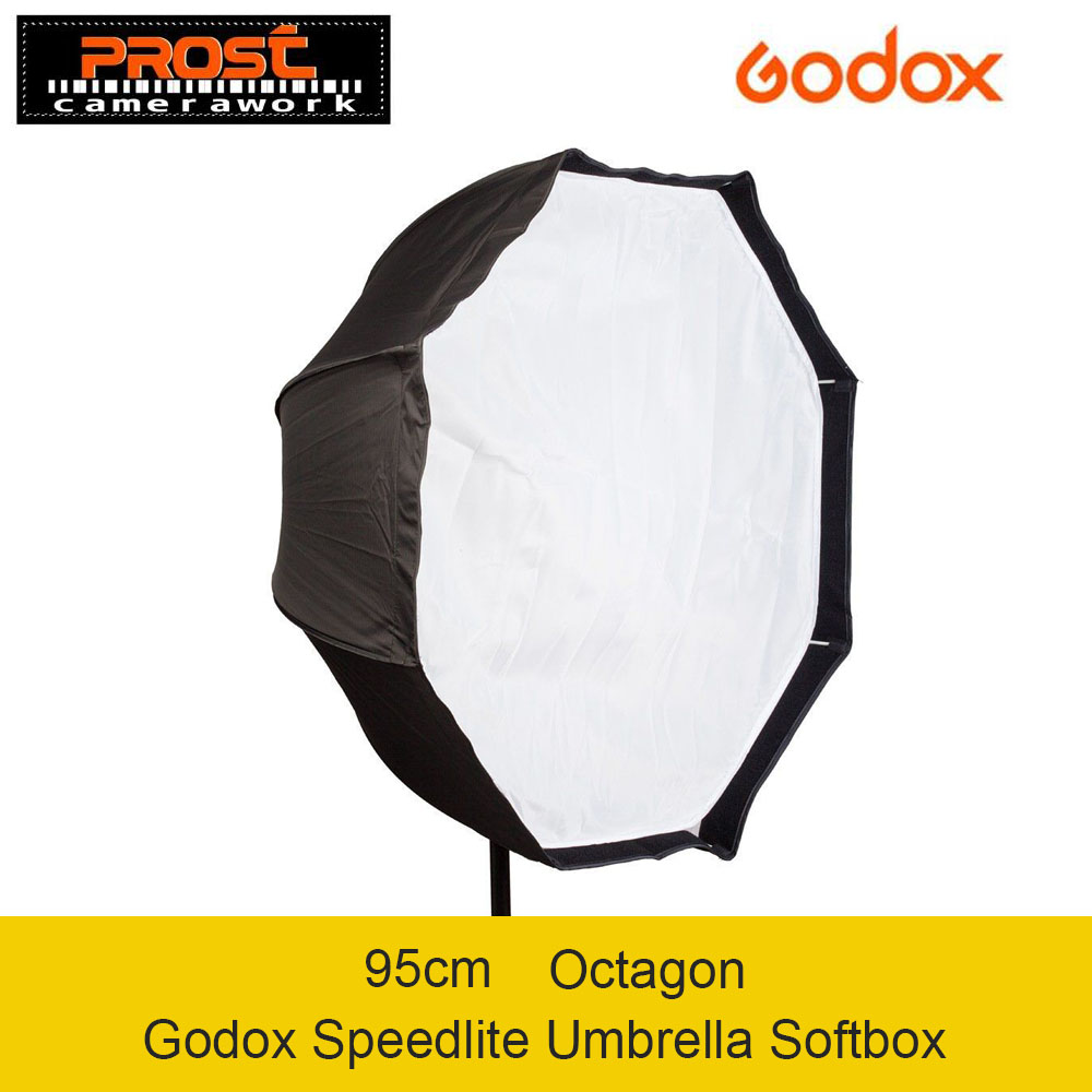 Godox Photo Studio 95 cm/37.5in Portable Octagon Flash Speedlight Speedlite Parapluie Softbox Soft Box Brolly Réflecteur