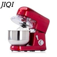 JIQI повар машина 5L 1200 Вт миксер Электрический Главная Кухня Приготовления Пищи Миксер, торт Тесто Для Хлеба Смеситель 110 В/220 В