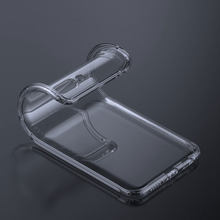 Transparent Original Soft Silicone Phone Case For Samsung s8 s9 s10 plus a50 a5 a7 a8 a9 j5 Case Ultra Thin Clear Cover TPU Capa(China)