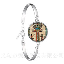 2018 New Ganesh Chaturthi Fashion Bracelet For Women Girls Lucky Jewelry Creative Gift Glass Dome Mandala Indian Jewelry Gift(China)
