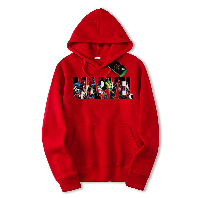 YUANHUIJIA Autumn Winter New Fashion MARVEL hoodies