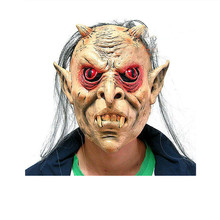 Brand New 1pc High quality Halloween Party Terrorist Heard Mask Halloween Costume Bloody Face Off Horror Mask macka