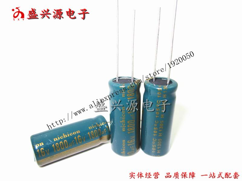 16V1800UF 1800UF16V motherboard plug aluminum electrolytic capacitors Specification: 10 * 25-in Capacitors from Electronic Components & Supplies    1