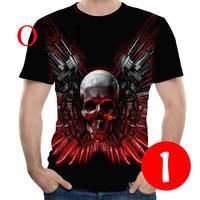 YSB002 Casual Tee shirt 3D Printer Wolf For Men/women Funny Tshirt Short Sleeve Streetwear T shirts Costume Plus