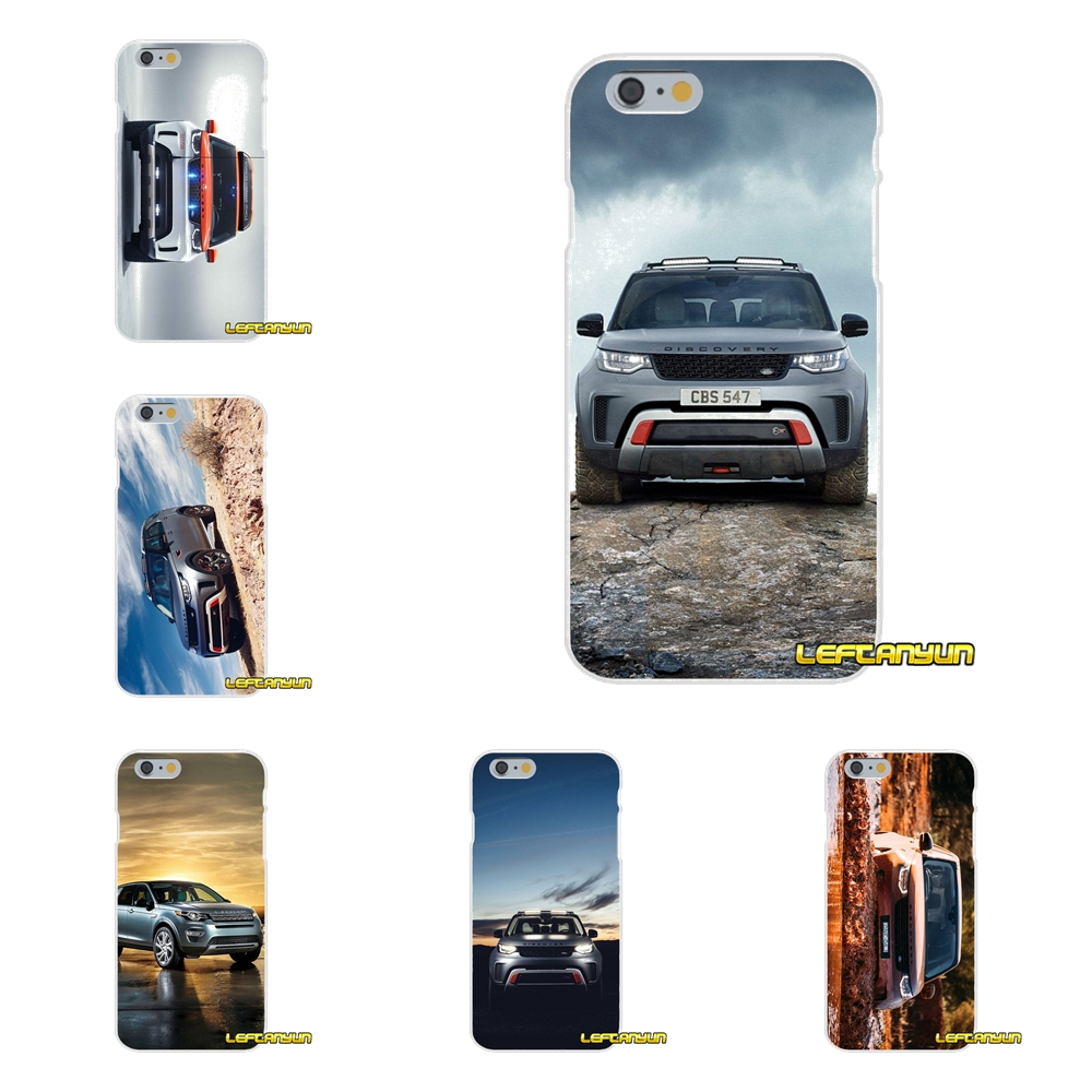 buy popular 02ae7 32c57 US $0.99  luxury car range rover discovery For iPhone X 4 4S 5 5S 5C SE 6  6S 7 8 Plus Accessories Phone Cases Covers-in Half-wrapped Cases from ...