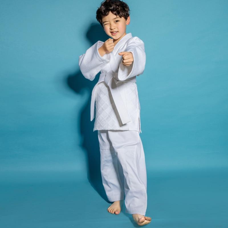 Sports & Entertainment Audacious New 100% Cotton Men Judo Jiu Jitsu Gi Thick Uniform Set Clothes Clothing Wushu Kung Fu Kits Slub Fabrics Adults Kids Children Fitness & Body Building