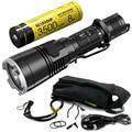 Распродажа NITECORE MH27 с 18650 Батарея Перезаряжаемые фонарик CREE XP-L HI V3 1000LM RGB светодиодный повышенной яркости люстра EDC Бесплатная доставка