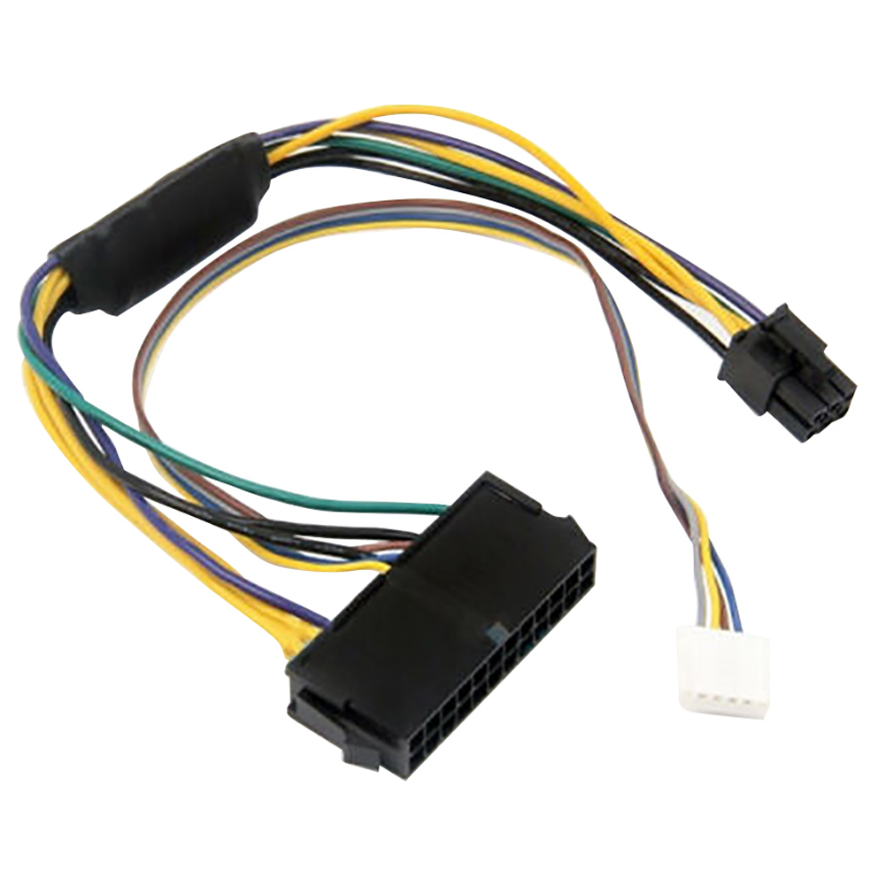 Mainboard Server Portable Durable Power Supply <font><b>Cable</b></font> Accessorizes <font><b>24Pin</b></font> To 6Pin Workstation Connector Adapter Line For HP Elite image