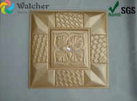 New coming 1BOX 8PCS 3D special decor PU Leather Wall Ceiling Panel for Living Room Sofa TV back ground