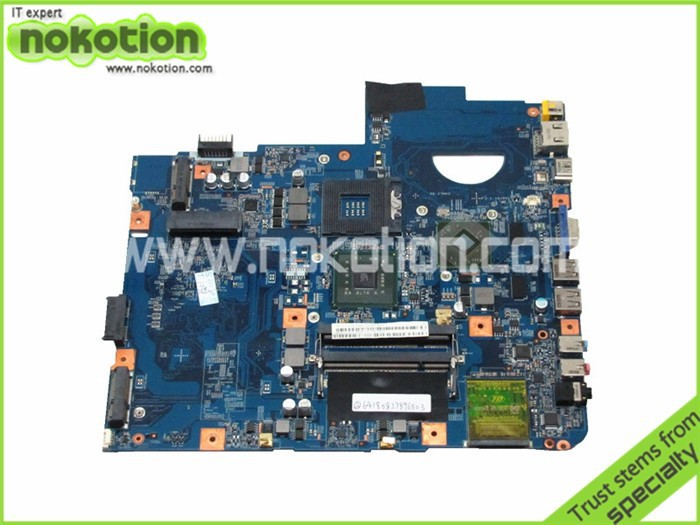 NOKOTION for acer aspire 5738 motherboard MBP5601011 48.4CG07.011 PM45 ATI 216-0728014 DDR2 laptop mother board warranty 60 days