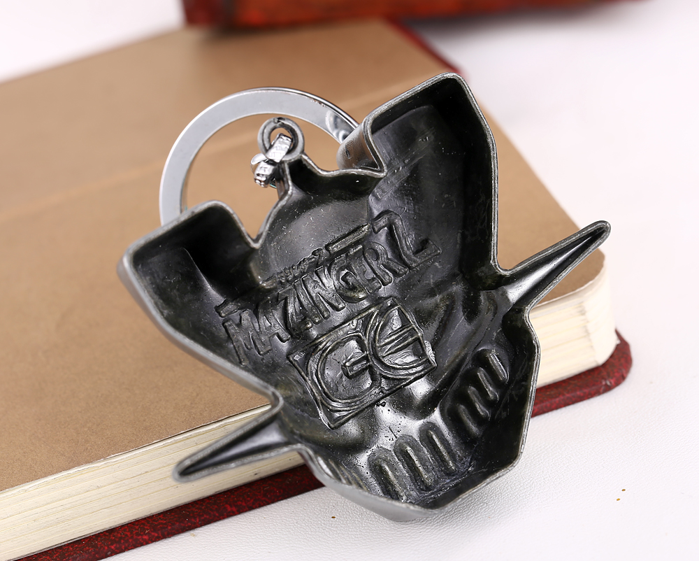 MS JEWELS Shin Mazinger Shougeki! Z-Hen Alloy Keychain Keychains Metal Key Rings For Gift Chaveiro 2 Colors