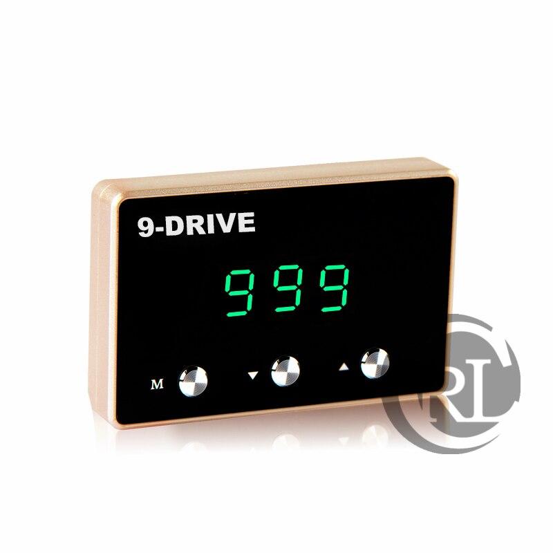 Diy Gemodificeerde Individuatie Pedaal Gaspedaal Sprint Booster Auto Elektronische Gasklep Controller Voor Land Wind X6 X8 X9 Mode