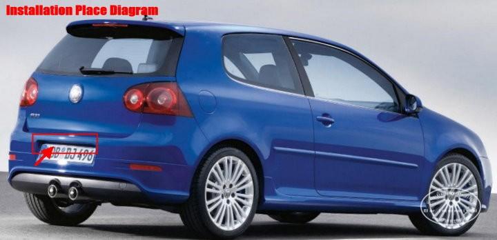 Volkswagen-Golf-Plus-back-license-plate-lamp