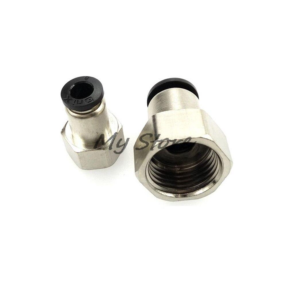 4 mm x 1//8 Bsp Raccord Cloison Poussoir en