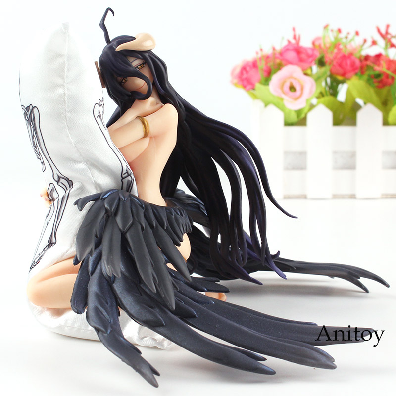 Anime Overlord Figure Overlord Albedo Toy Albedo Action Figure Sexy Girl Girls PVC Figures Collectible Model Toy fmart e r302g умный робот пылесос домашний пылесос