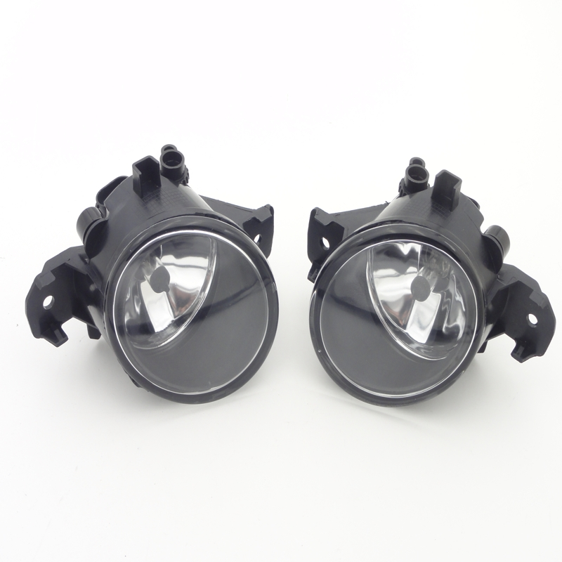 ФОТО 1Pair Front Bumper Fog Lights High Brightness Fog Lamps With Bulb For NISSAN SENTRA 2013-2015