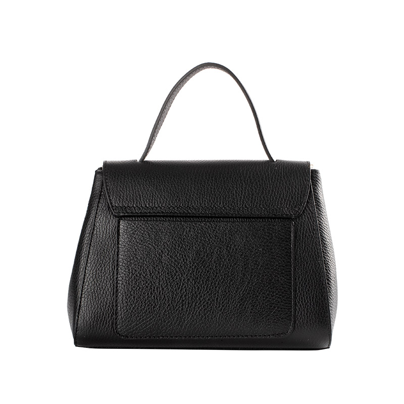 lulu milano Genuine leather Lady Pure color Fashion hand bag 85164 made in Italy 2