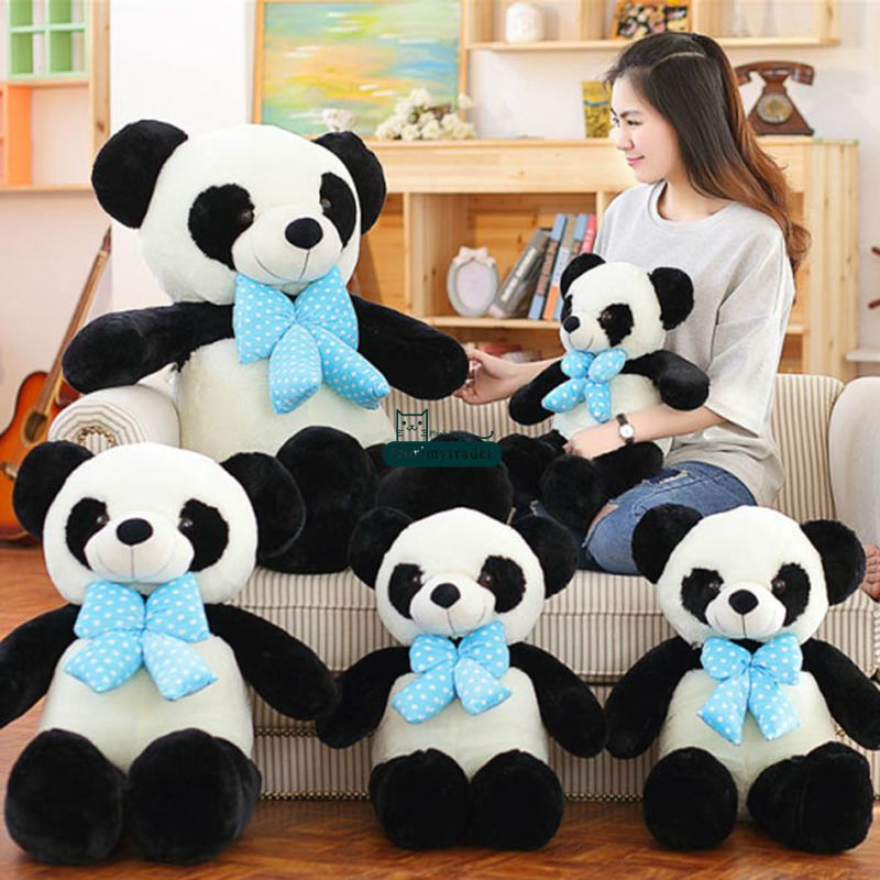 Dorimytrader Giant Soft Panda Stuffed Animal Toys Soft