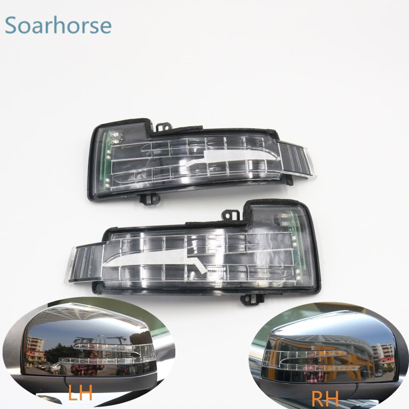 Car Rear view side mirror LED Turn Signal Indicator Light Blinker Lamp for Mercedes Benz W251 W166 W463 X166 GL/ML/R/G Class
