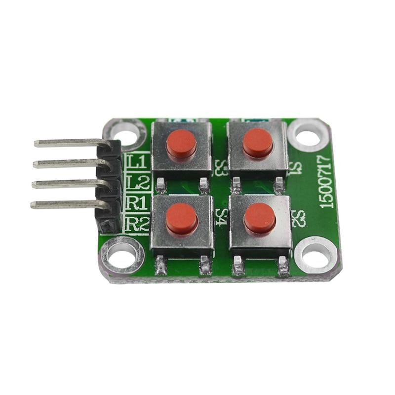High Quality Raspberry Pi 3 Push Button Key Module 4 Key Switch For Orange Pi For DIY Board