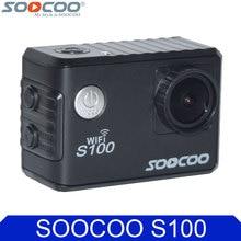 Оригинал soocoo s100 4 К 24fps 2 К 30fps wi-fi 20mp водонепроницаемый 30 м Гироскопа Мини Камера Action Sports DV Поддержка Расширенный GPS модуль