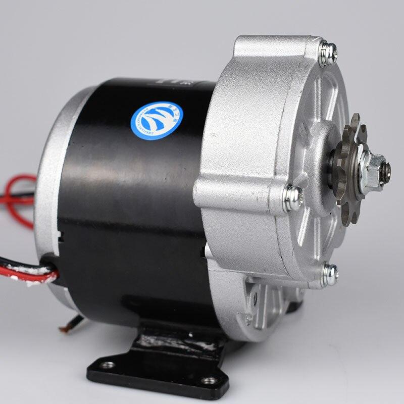 LINGYING 250 W vélo électrique brosse moteur 12VDC engrenage moteur vtt vélo de route moteur vélo Conversion Ebike moteur Tricycle PartsLM