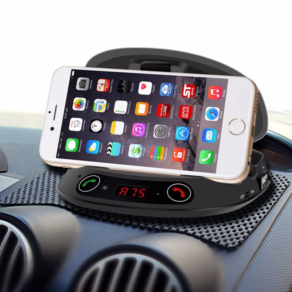 Cell Phone Holders,Wireless Car Mount Bluetooth FM
