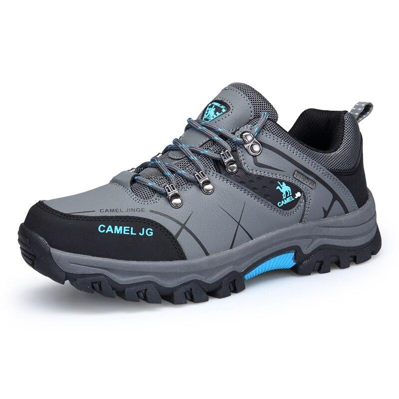 GOMNEAR Hommes Chameau Trekking Randonnée Chaussures de Chasse En Plein Air Chaussures Respirant Étanche Antidérapant Jogging Athlétique Sport Sneaker Mâle