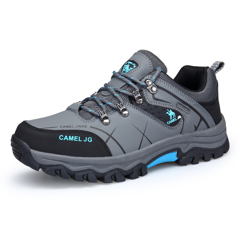 MIKA HOM Men Hiking Shoes Lightweight Breathable Sneaker Outdoor Student Running Trekking