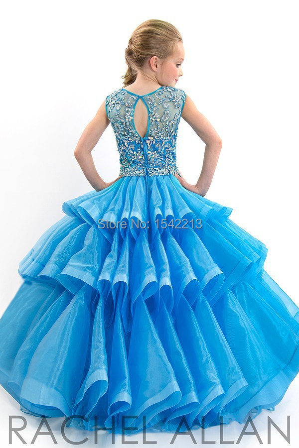 Aliexpress.com : Buy 2017 Glitz Little Girls Pageant Dresses Ball ...