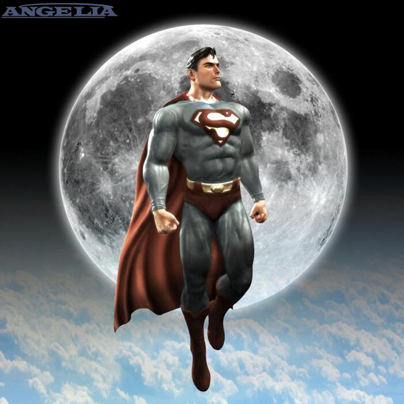 La luz de la luna de Superman Impresión de arte cartel Wall imágenes ...