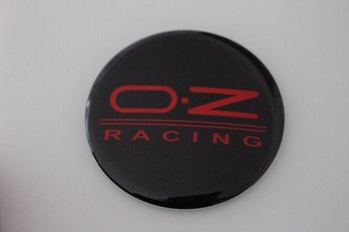 KOM POWER 65MM OZ Logo Wheel Center Caps Sticker OZ Emblem Wheel Cover Hub Cap Sticker