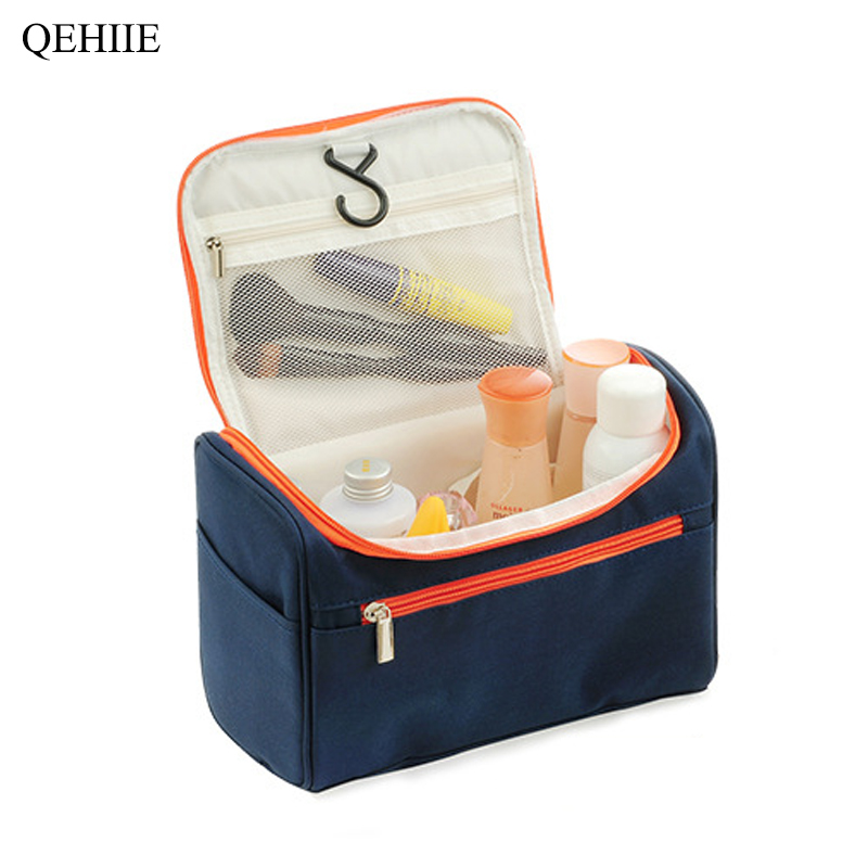 High Quality New Travel Cosmetic Bag Multi-Function Waterproof Hook Men's Wash Organizer Package Cosmetics Underwear Storage Bag
