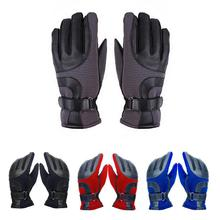 Warm Touch Screen Sports Gloves for Men - Ski Thickening Gloves - Motorcycle Riding Cold Proof Skid Proof Windproof Gloves