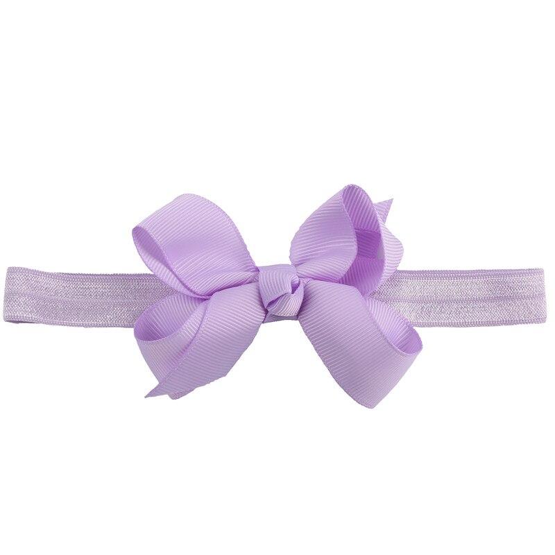 Laribbons Newborn and Babies Grosgrain Hair Bow Elastic Headband 19 Pack