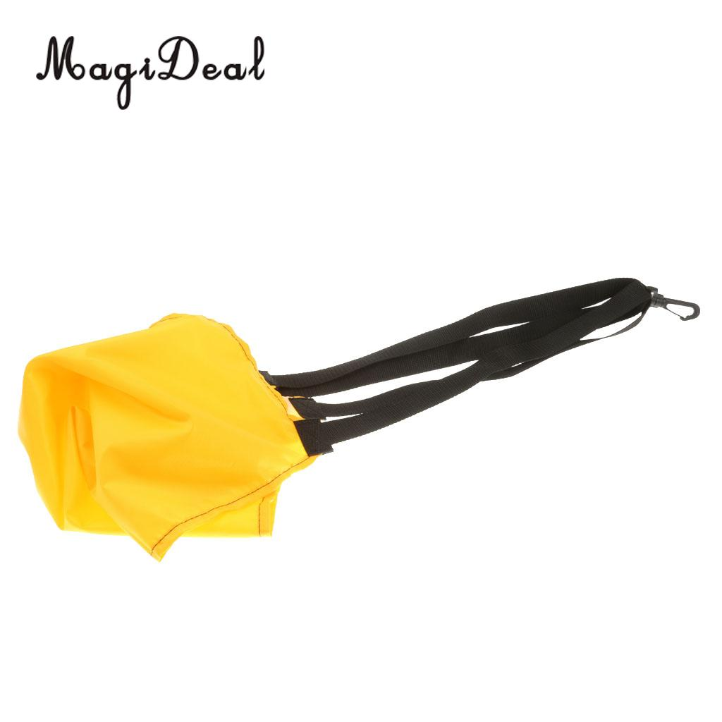 MagiDeal Hot Swimming Pool Resistance Trainer Power Speed Water Bag Swim Aid Training Tool for Power Strengthen Swim Accessory