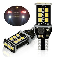 2x Canbus 1156 P21W W16W светодиодный 912 T15 светодиодный лампы для Audi A3 A4 B6 B8 A6 C6 80 B5 B7 A5 Q5 Q7 TT 8P 100 Резервное копирование Фары заднего хода