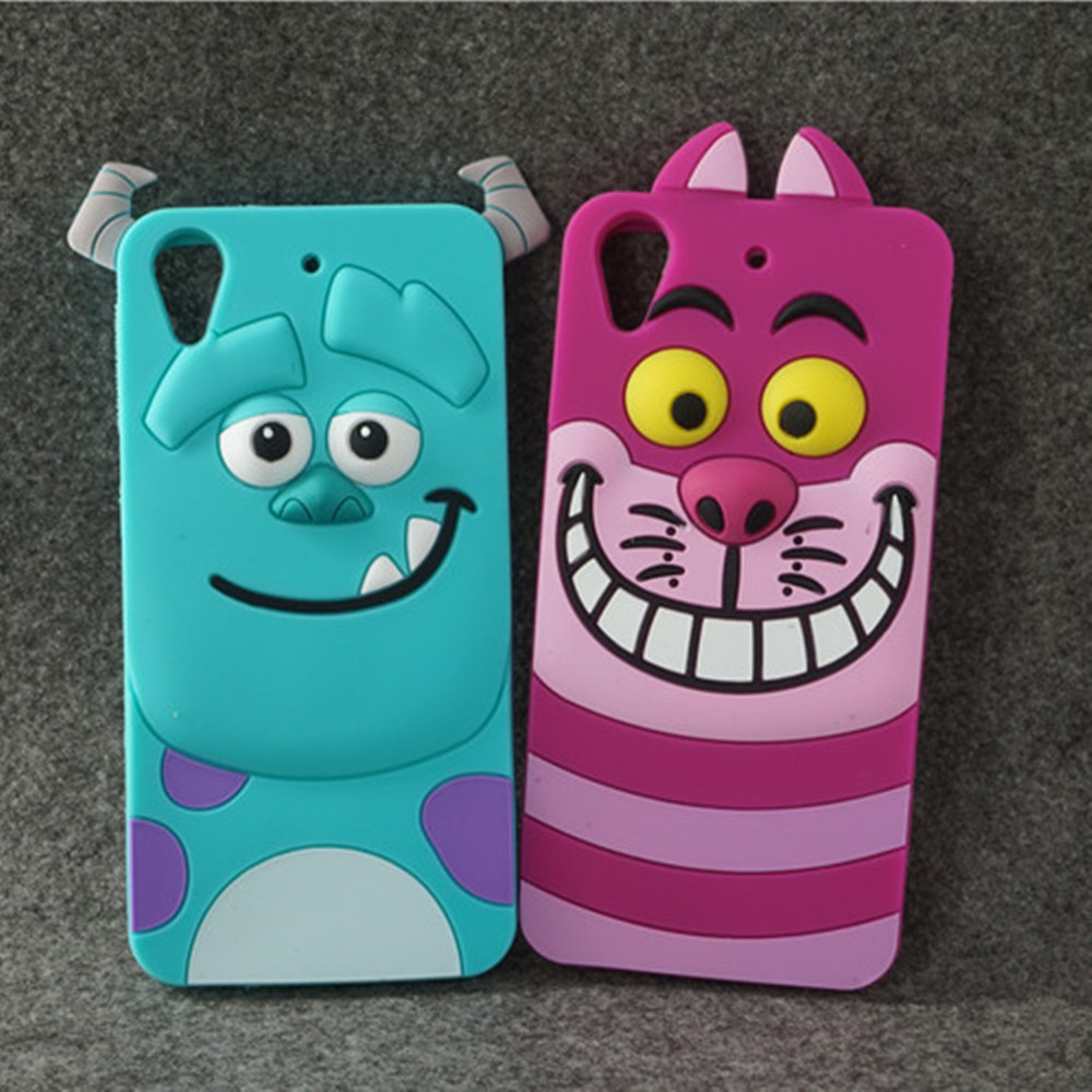 Cute Cartoon Monsters Sulley Soft Silicone Case Cover For HTC Desire 628 626 626g 650 Minnie Mouse Skin Cover Capa