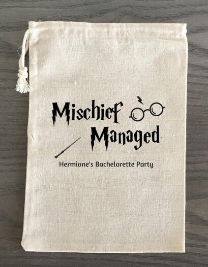 Personalized Harry Potter Bachelorette Hangover bridal