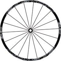 Outline EA 2Wheels Set Mountain Bike 26inch Wheel Stickers Motorcycle Stickers Bike Decals Wheel Stickers