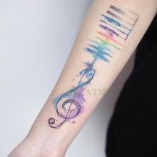 Wyprzedaż Temporary Music Notes Tattoo Galeria Kupuj W