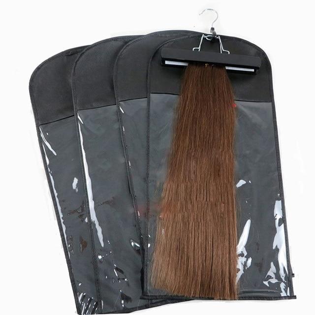 1 set hair extension zipper bag storage suit case with hanger wig 1 set hair extension zipper bag storage suit case with hanger wig stands for weft hair pmusecretfo Image collections