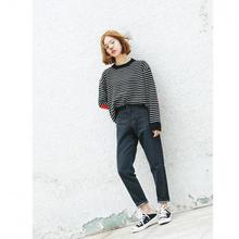 Бойфренд джинсы для женщин boyfriend джинсы пункт как mulheres ретро проблемные джинсы женщины винтаж жан корейский стиль ulzzang