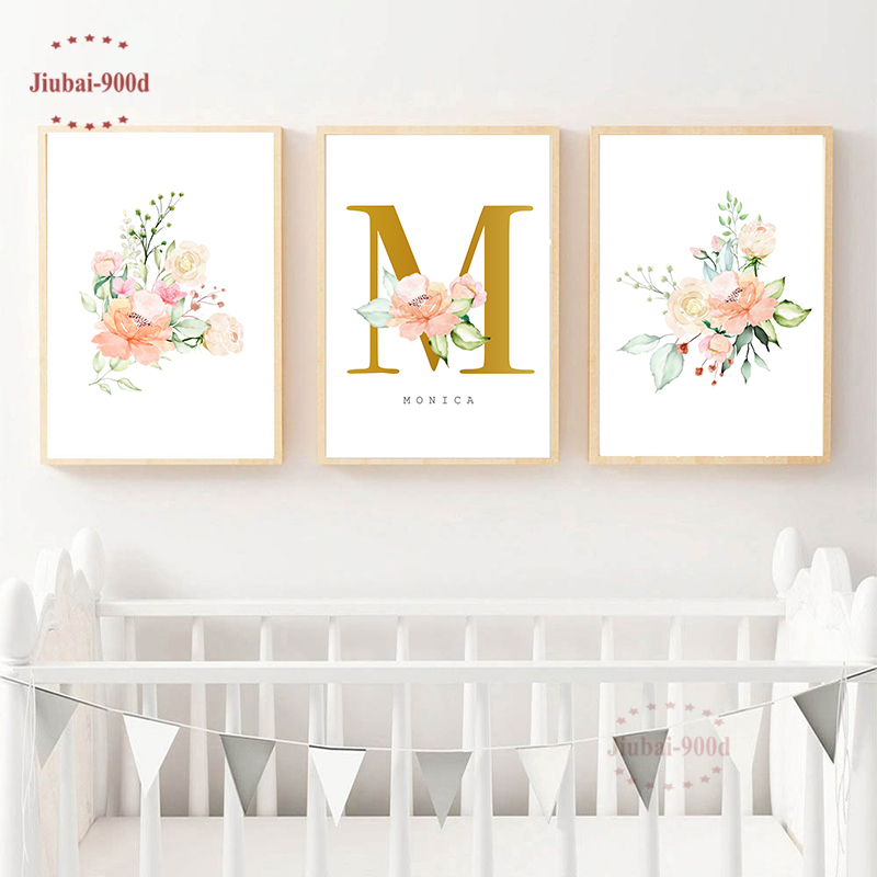 Flowers Baby Room Wall Decoration