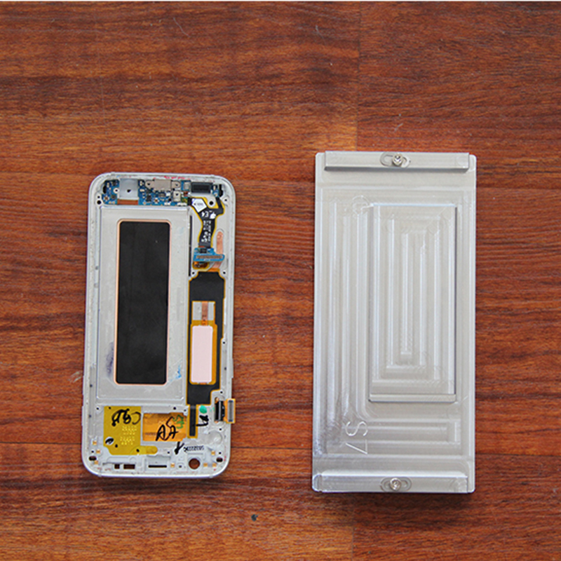 in Frame glue cleaning mold for S7 edge S8 S8 plus Note 8 LCD heating glue cleaning easy and efficient for mobile phone repair 007