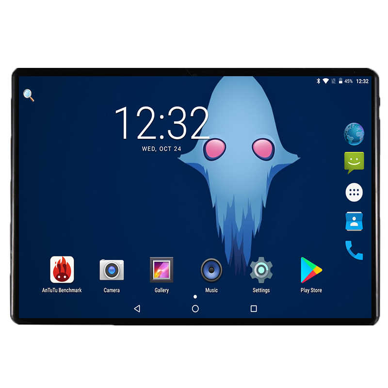 2019 New 2.5D 3G 4G FDD LTE Phone 10 inch tablet Android 8.0 Octa Core 4GB RAM 32GB ROM 1280X800 IPS WIFI GPS Tablet 10 10.1