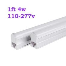 24pcs 1FT led tube light 4W AC 110V-277V T5 Led fluorescent Replacement Tube Light Lamp led lights for home