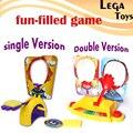 Single OU Double Brinquedo Antistress Gadgets Funny Face Fun Confronto jogo Da Família Dos Miúdos Jogo de Festa Divertida Cheia de Bordo do Foguete Suspense Gif