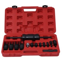 Multipurpose 14pcs Injector Puller Extractor Kit Engine Service Tool Fuel Injector Puller Diesel Common Rail for Car Repair Tool